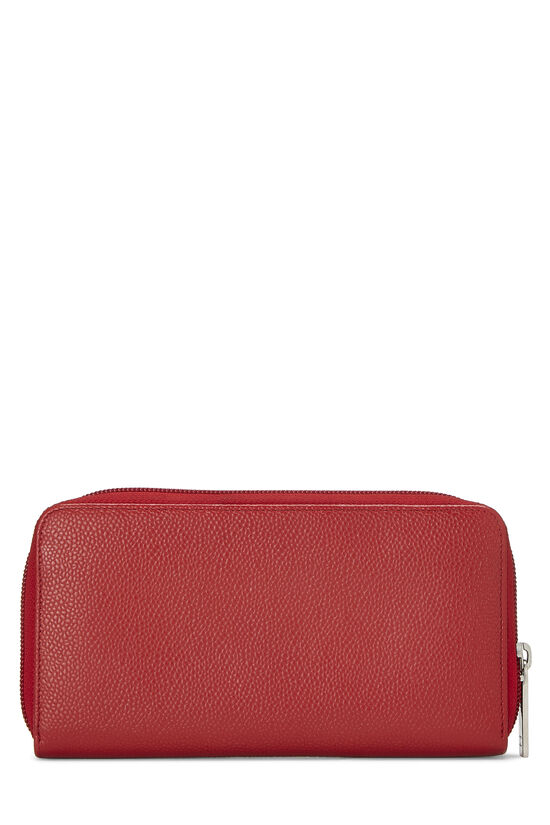 Red Caviar 'CC' Zip Wallet, , large image number 2