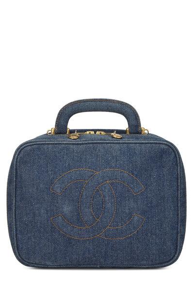 Blue Denim Lunch Box Vanity