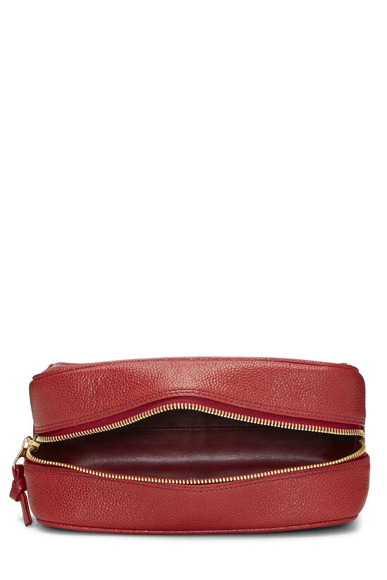 Red Caviar 'CC' Cosmetic Bag, , large image number 5