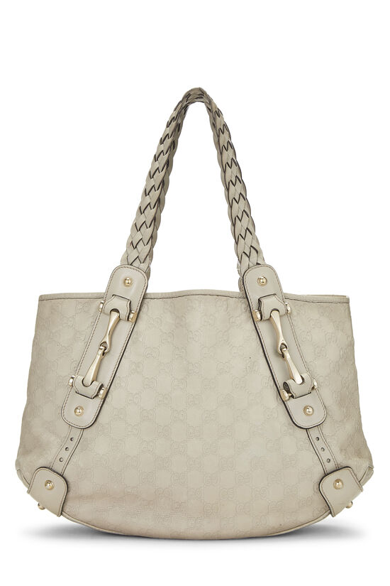 Grey Gucci Signature Pelham Tote Small, , large image number 0