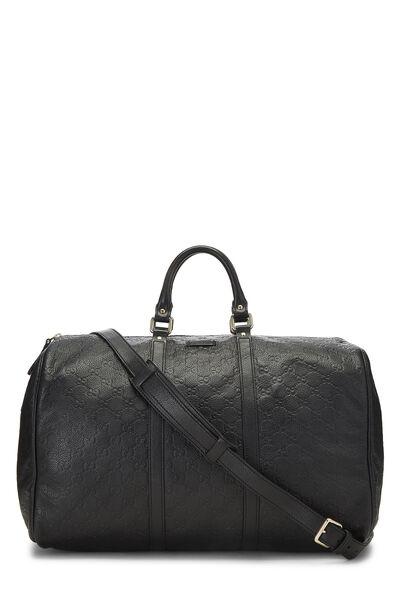 Black Guccissima Leather Joy Boston Large