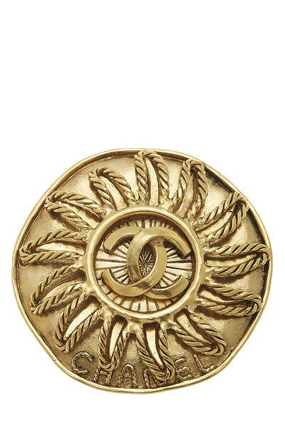 Gold 'CC' Sun Pin