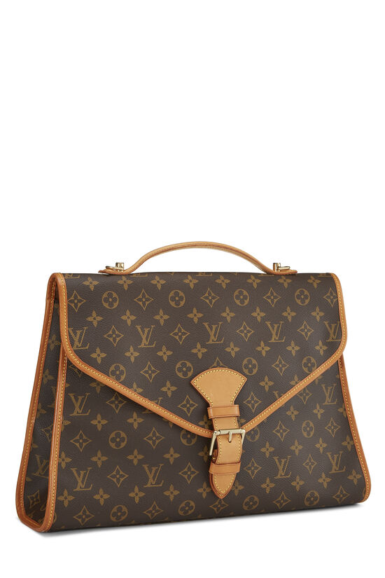 Monogram Canvas Beverly Briefcase, , large image number 1