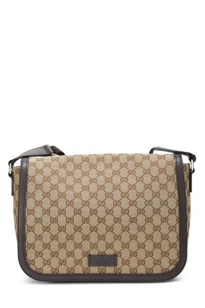 Original GG Canvas Messenger Bag