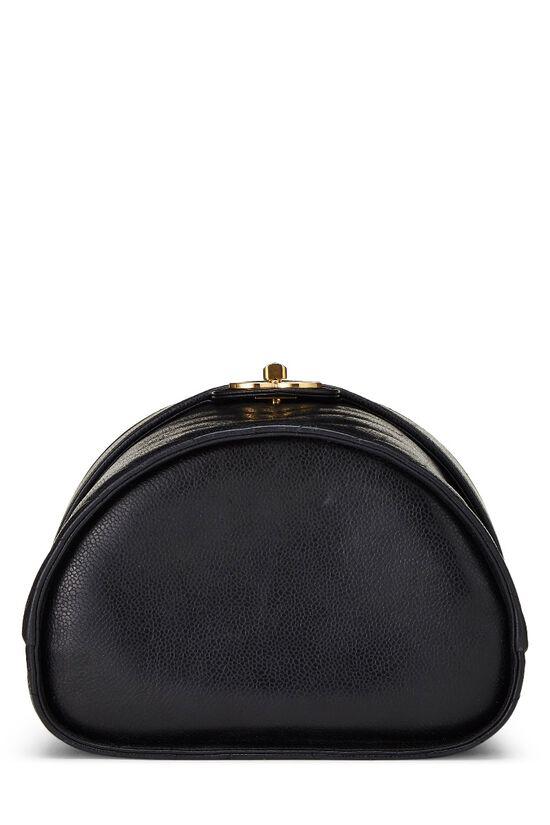 Black Chevron Caviar Tab Vanity, , large image number 4