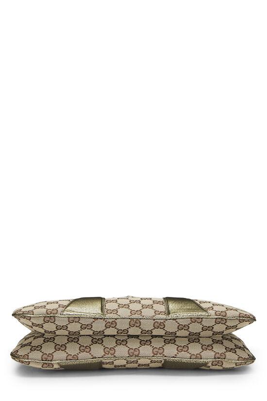 Original GG Canvas Dragon Shoulder Bag, , large image number 4