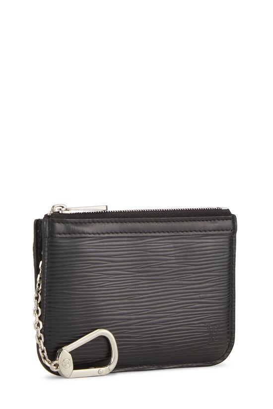 Black Epi Pochette Clefs, , large image number 1