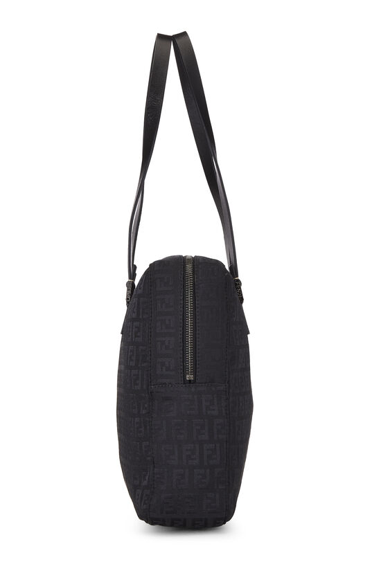 Black Zucchino Canvas Tote Small, , large image number 2