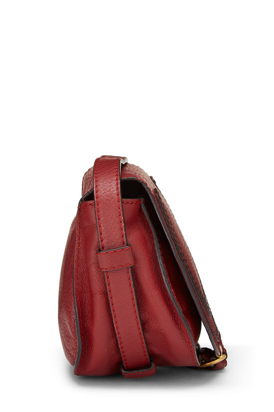 Red Leather Marcie Crossbody Mini, , large image number 2