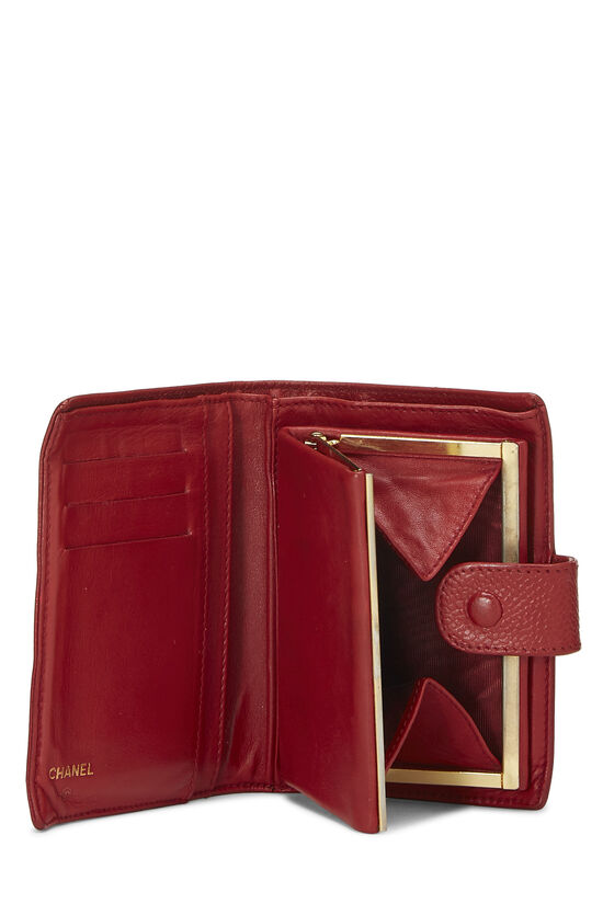 Red Caviar 'CC' Compact Wallet, , large image number 3