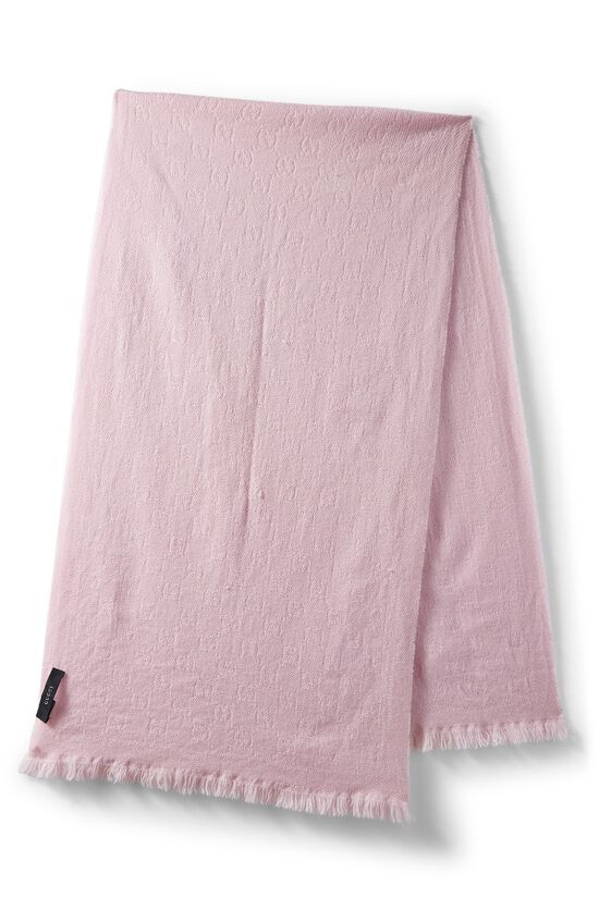 Pink Wool Stole, , large image number 1
