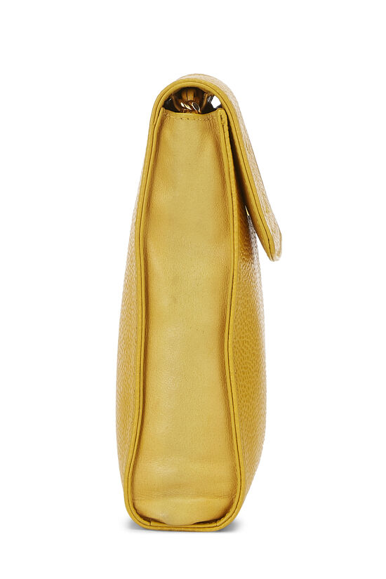 Yellow Caviar Timeless 'CC' Crossbody Pouch, , large image number 2