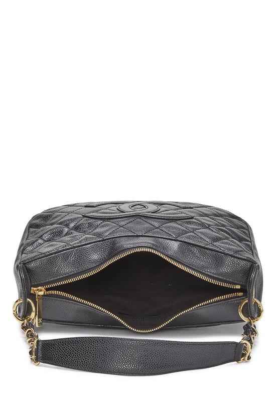 Black Caviar Timeless 'CC' Shoulder Bag, , large image number 5