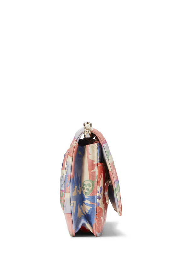 Multicolor Floral Quilted Lambskin Wallet on Chain (WOC), , large image number 2