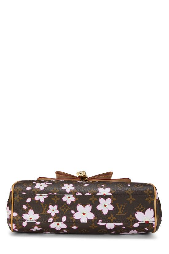 Takashi Murakami x Louis Vuitton Monogram Cherry Blossom Sac Retro PM, , large image number 4