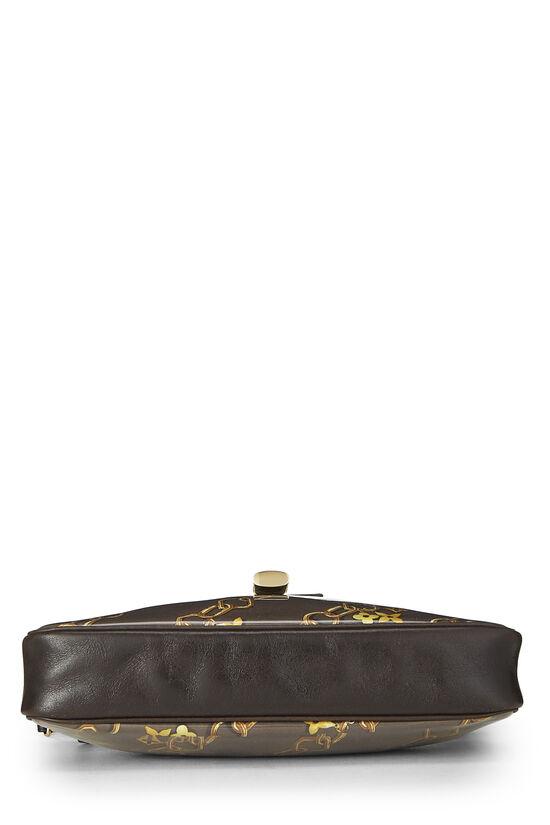 Brown Monogram Vinyl Charms Pochette Accessoires, , large image number 4