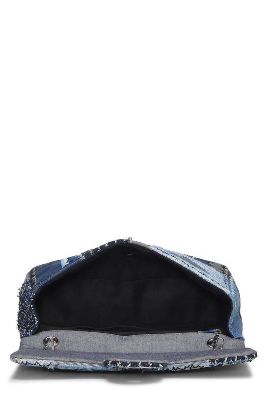Blue Denim Patchwork Flap Jumbo, , large image number 5