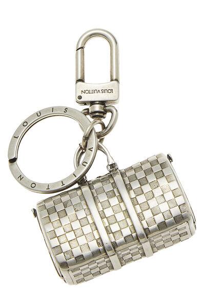 Silver Keepall Key Holder