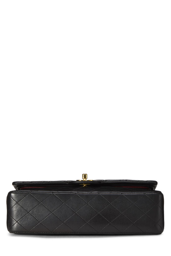 Black Quilted Lambskin Classic Double Flap Medium, , large image number 4
