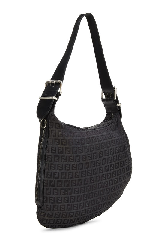 Black Zucchino Canvas Oyster Bag, , large image number 1