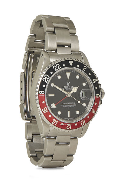 Stainless Steel Coke GMT-Master Fat Lady 16760 40mm