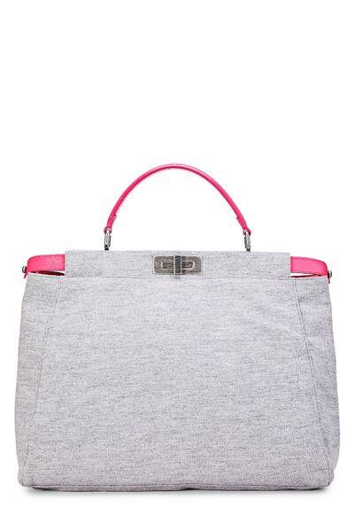 Pink & Grey Jersey Peekaboo