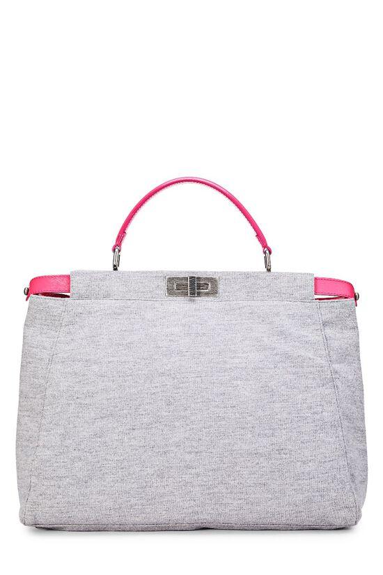 Pink & Grey Jersey Peekaboo, , large image number 0