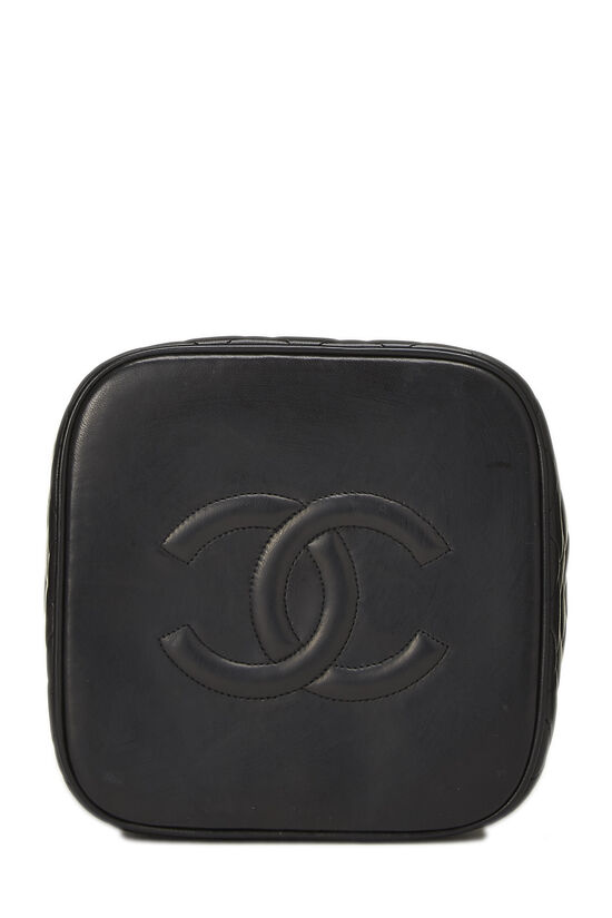 Black Quilted Lambskin Vanity Tall, , large image number 4