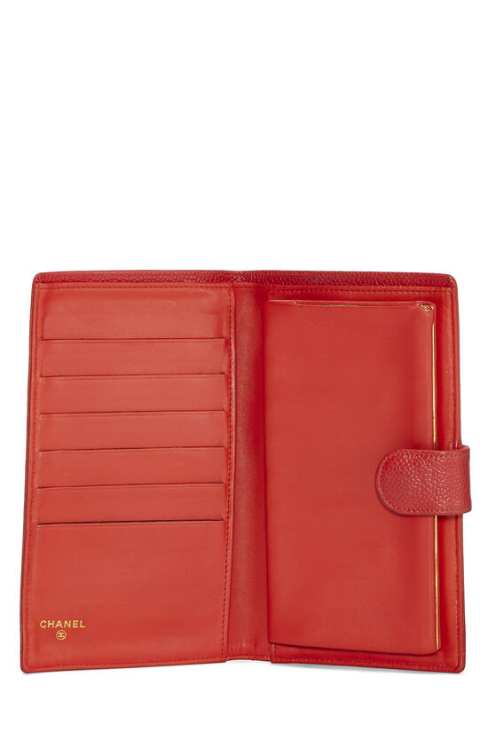 Red Caviar Timeless 'CC' Wallet, , large image number 3