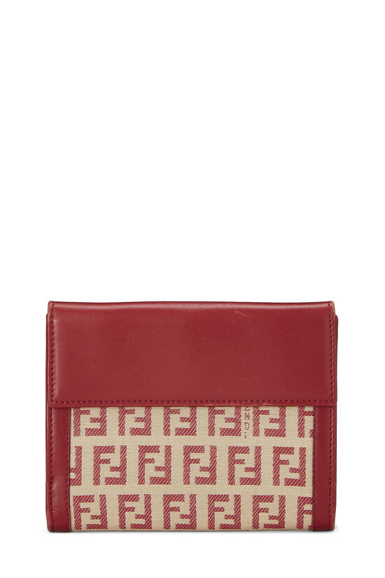 Red Zucchino Canvas Compact Wallet, , large image number 2