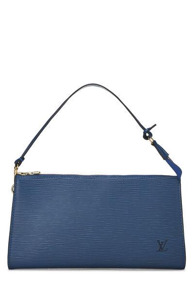 Toledo Blue Epi Pochette Accessoires