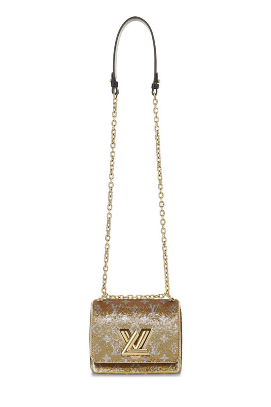 Gold Monogram Sequin Exceptional Twist PM, , large image number 1