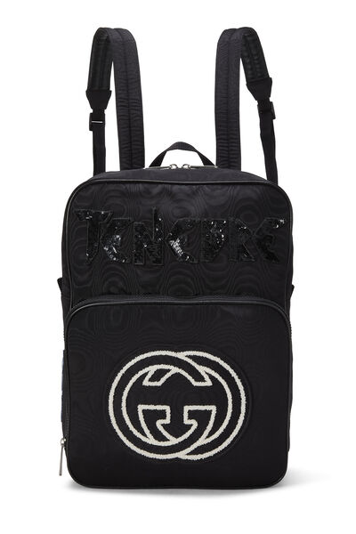 Black Nylon Tenebre Backpack