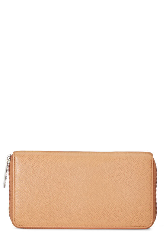 Peach Caviar Zippy Wallet, , large image number 2