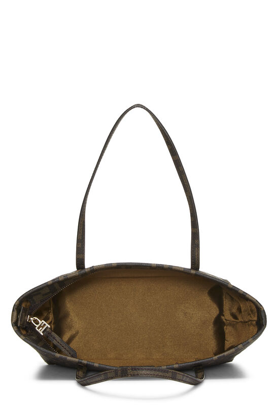 Brown  Zucca Coated Canvas Spalmati Roll Tote Mini, , large image number 5