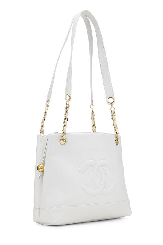 White Caviar Zip Tote, , large image number 1