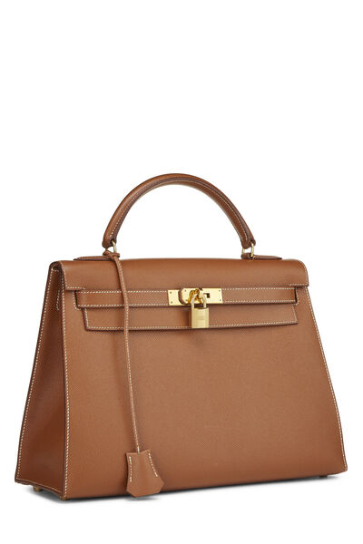 Gold Courchevel Kelly Sellier 32, , large