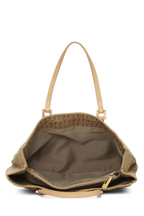 Beige Zucchino Canvas Shopping Tote Small, , large image number 5
