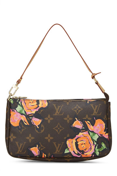Stephen Sprouse x Louis Vuitton Monogram Roses Pochette Accessoires