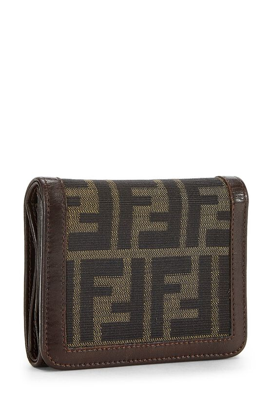 Brown Zucca Canvas Wallet, , large image number 1