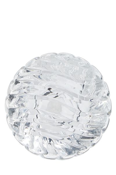 Gucci Crystal Dome Paperweight, , large