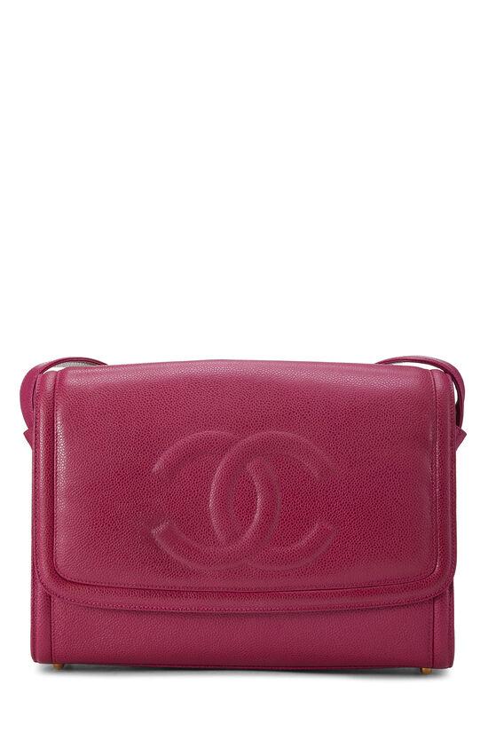 Pink Caviar 'CC' Messenger Bag, , large image number 0