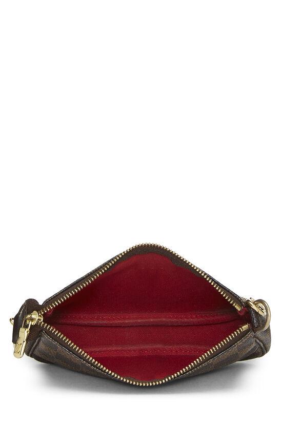 Damier Ebene Pochette Accessoires Mini, , large image number 3