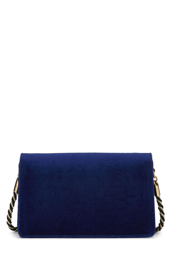 Blue Velour Broadway Crossbody Mini, , large image number 3