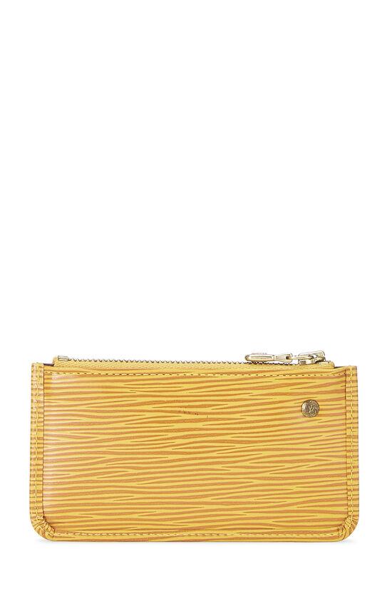 Tassil Yellow Epi Pochette Clefs, , large image number 2