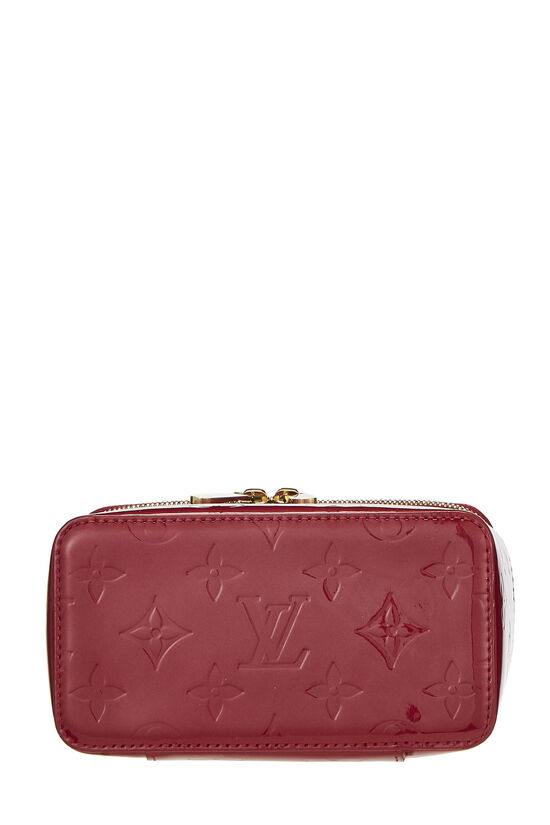Pomme D'Amour Monogram Vernis Jewelry Case Mini, , large image number 4