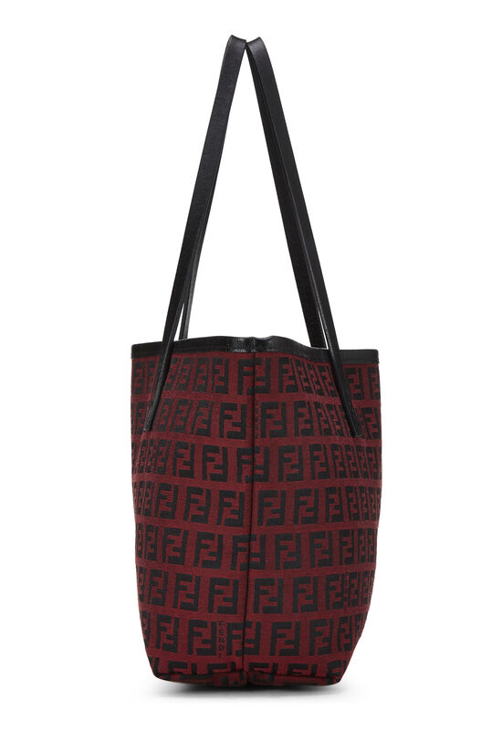 Red & Black Zucchino Canvas Tote Mini, , large image number 2