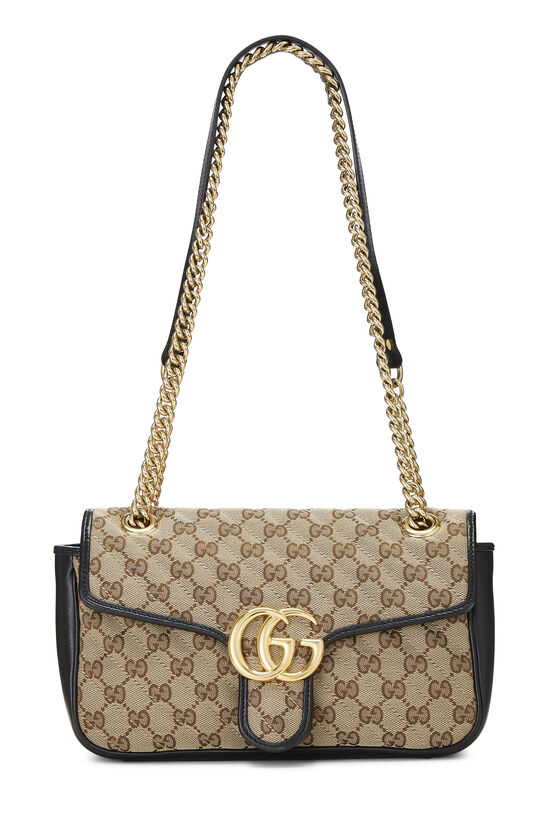 Original GG Canvas Marmont Shoulder Bag Small, , large image number 0