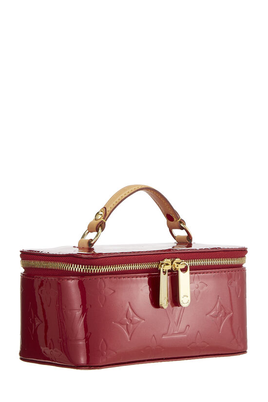 Pomme D'Amour Monogram Vernis Jewelry Case Mini, , large image number 1
