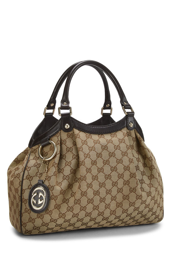 Original GG Canvas Sukey Tote, , large image number 1